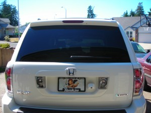 Portland Honda Window Tinting