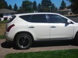 Portland Nissan Window Tinting