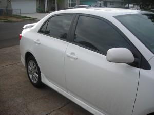 Portland Toyota Auto Tint