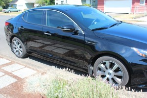 2012 Kia Optima Window Tint
