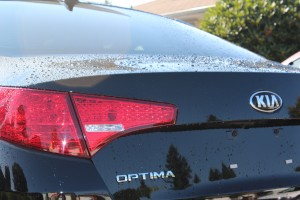 Portland Window Tinting 2012 Black Kia Optima